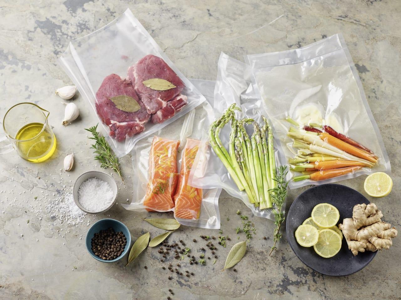 Préparer de bons plats avec une cuisson sous vide !